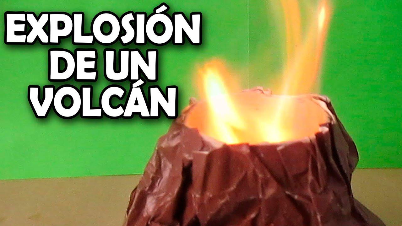 Como hacer una explosi n volc nica experimentos youtube for Como hacer un proyecto de comedor infantil