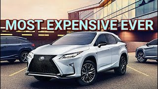 2017 Lexus RX450h Full Review Luxury Performance Tech Most Expensive RX