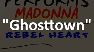 Ghosttown - Madonna [tribute cover by Molotov Cocktail Piano]