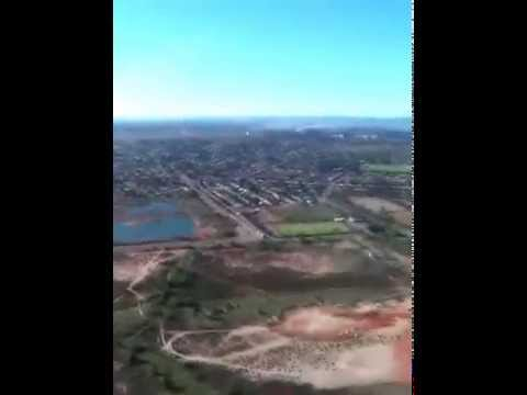My visit to whyalla in South Australia in Private Helicopter