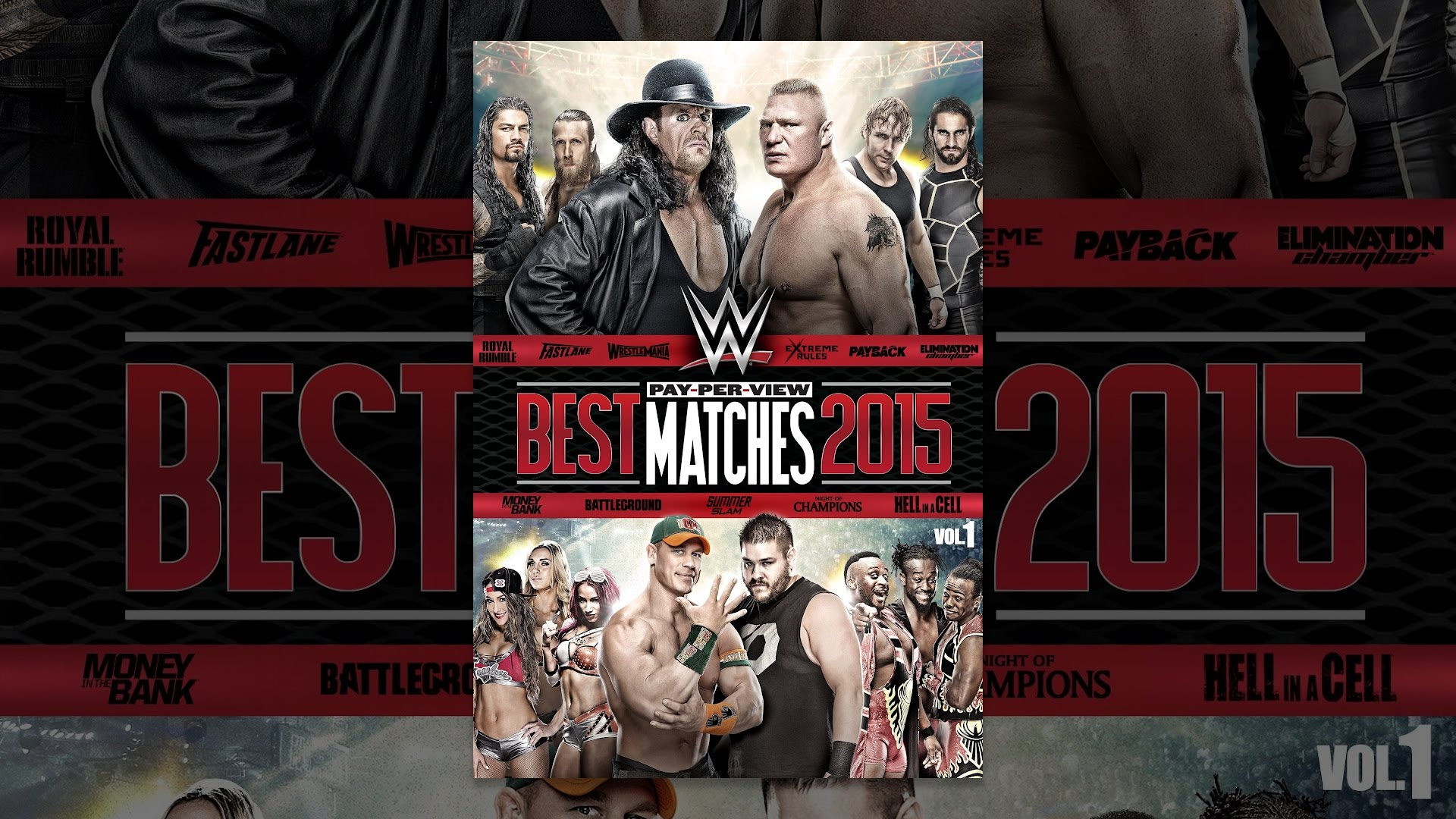 WWE: Best Pay-Per-View Matches of 2015 Volume 1