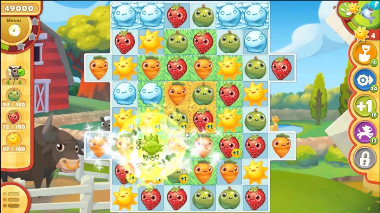 how to win farm heros level497