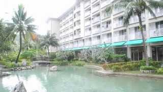 1月 PALAU RESORT HOTEL MORNING