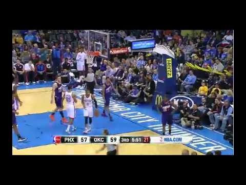 NBA CIRCLE - Phoenix Suns Vs Oklahoma City Thunder Highlights 3 November 2013 www.nbacircle.com
