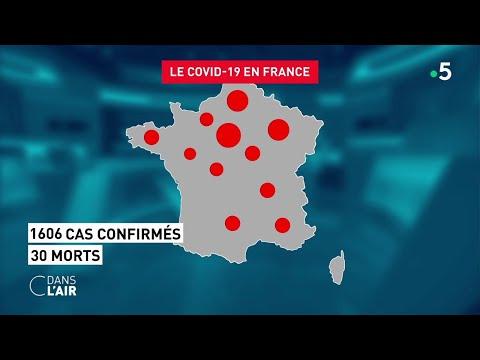 Coronavirus: l'Italie confinée... et la France ? - Reportage #cdanslair 10.03.2020