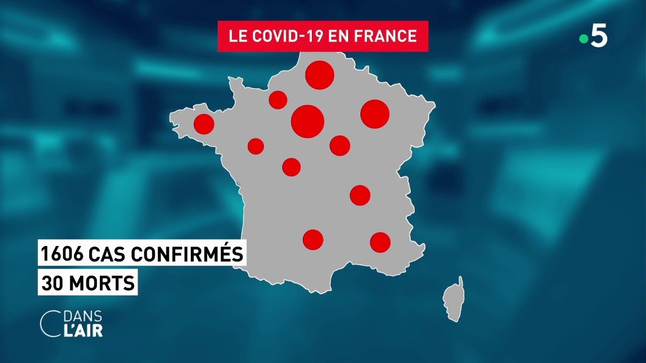Coronavirus : l'Italie confinée... et la France ? - Reportage #cdanslair 10.03.2020