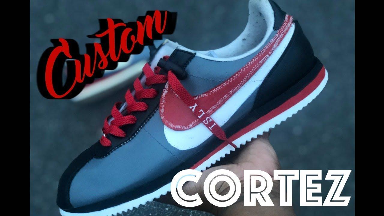 Nike Cortez Custom | Angelus Paint DIY