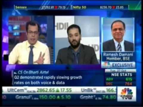 CNBC Trading Hour 27 Oct 2015 04min 33sec Mr  Sarang Wadhawan   HDIL    Real Estate In Mumbai   Dema