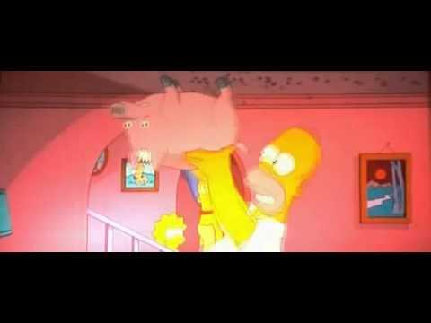 Spiderschwein Simpsons