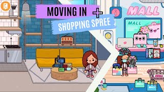 Moving In + Shopping spree | Part 2 | Student QUARANTINE Story | Toca Life