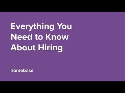 Everything You Need To Know About Hiring Hourly Workers