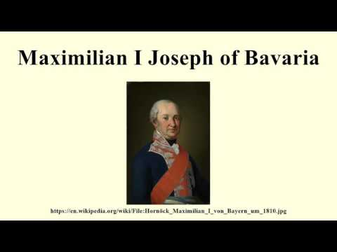 Maximilian I Joseph of Bavaria