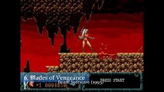100 Underrated/Less Known/Hidden Gęm Sega Mega Drive/Genesis Games!