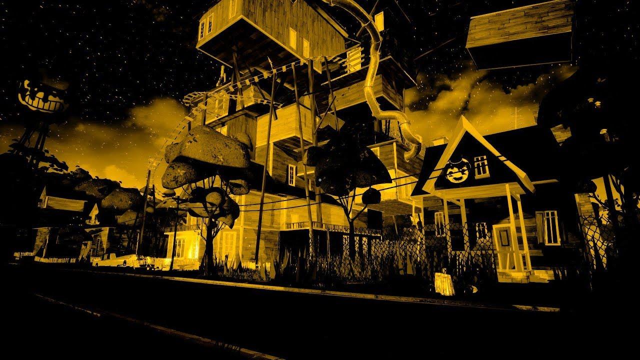 Nueva Casa De Hello Neighbor En El Nuevo Trailer De Bendy And The Ink Machine Halloween Oficial