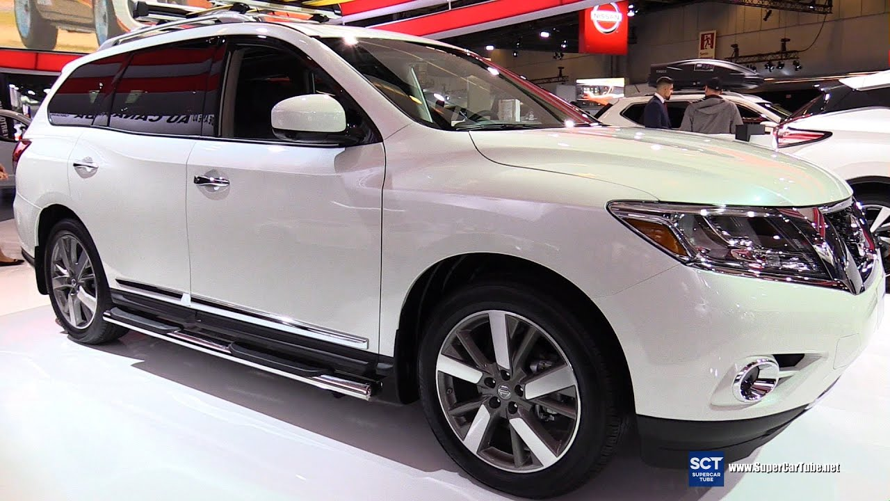 2016 Nissan Pathfinder Platinum 4rm Exterior And Interior