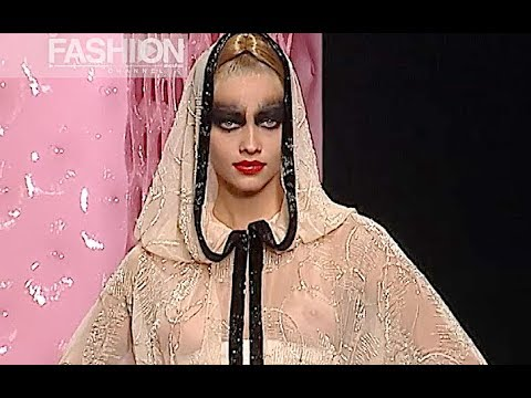 BALMAIN Haute Couture Spring Summer 2003 Paris - Fashion Channel