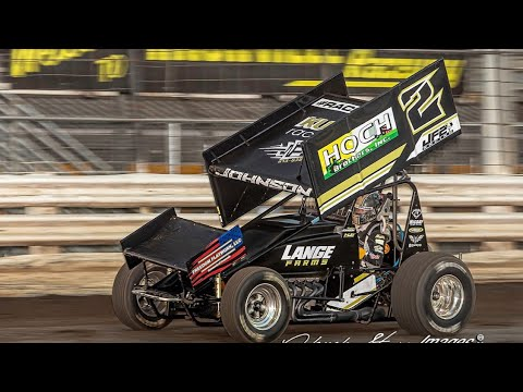 Knoxville Raceway OnBoard with Matthew Johnson