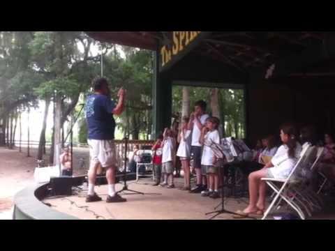 Suwannee kids camp harmonicas