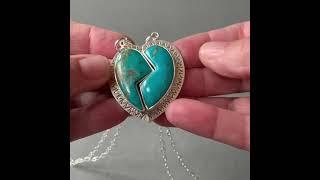 Best Friends Turquoise pendant…