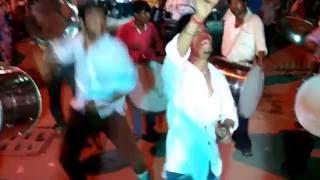 Parsigutta Vicky & Rohith dancing Ganesh 2015