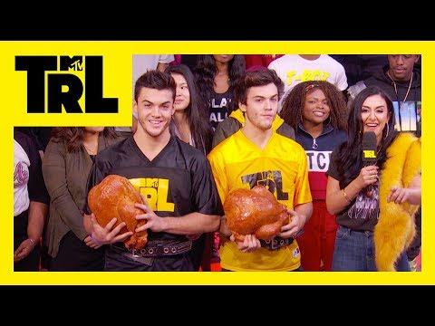 Download Youtube: The Dolan Twins Play 'Turkey Touchdown' | TRL Weekdays at 4pm