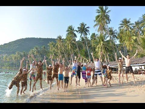 Team building tại đảo Nam Du cùng đoàn Dai-ichi Life Nam Long Phát