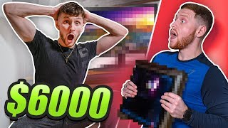 Surprising My Best Friend With $6000 PC Setup