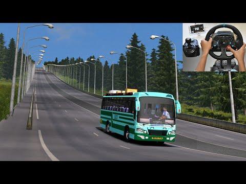 SETC Maruti Bus Emergency Brake Test At 261kmph | Live Video | Euro Truck Simulator 2 With Bus Mod |