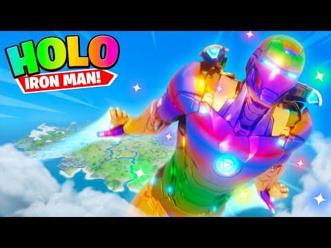 HOLO IRON MAN in Fortnite