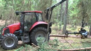 CRYSTAL TRAKTOR ORION 130 Leśny & Harvester part.4