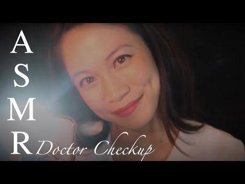 ASMR Urgent Care Doctor Exam Roleplay. You Are My Priority.