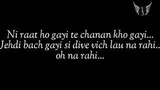 tenu samaj baitha c zindgi tu maut di wajah ban gyi lyrics
