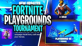 🔴 FORTNITE PLAYGROUNDS 1V1 TOURNAMENT FOR SUBSCRIBERS - GIVEAWAY