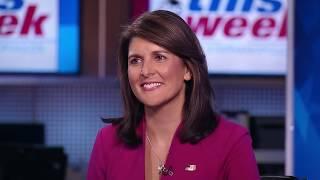 Baixar Ambassador Haley 'I've Never Heard' Cabinet Consider Invoking 25th Amendment