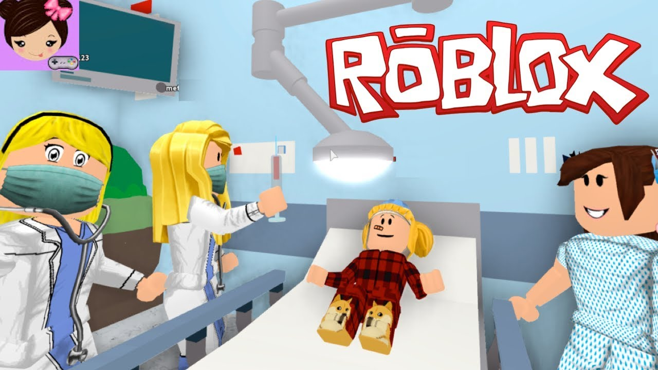 My Baby Goldie Got Sick In Bloxburg I Took Her To The Roblox