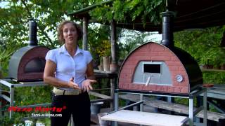 Temperature of the wood fired pizza oven - THERMOMETER