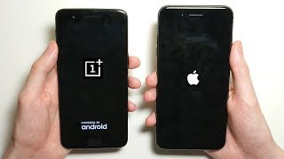 iPhone 8 Plus vs OnePlus 5 Speed Test!