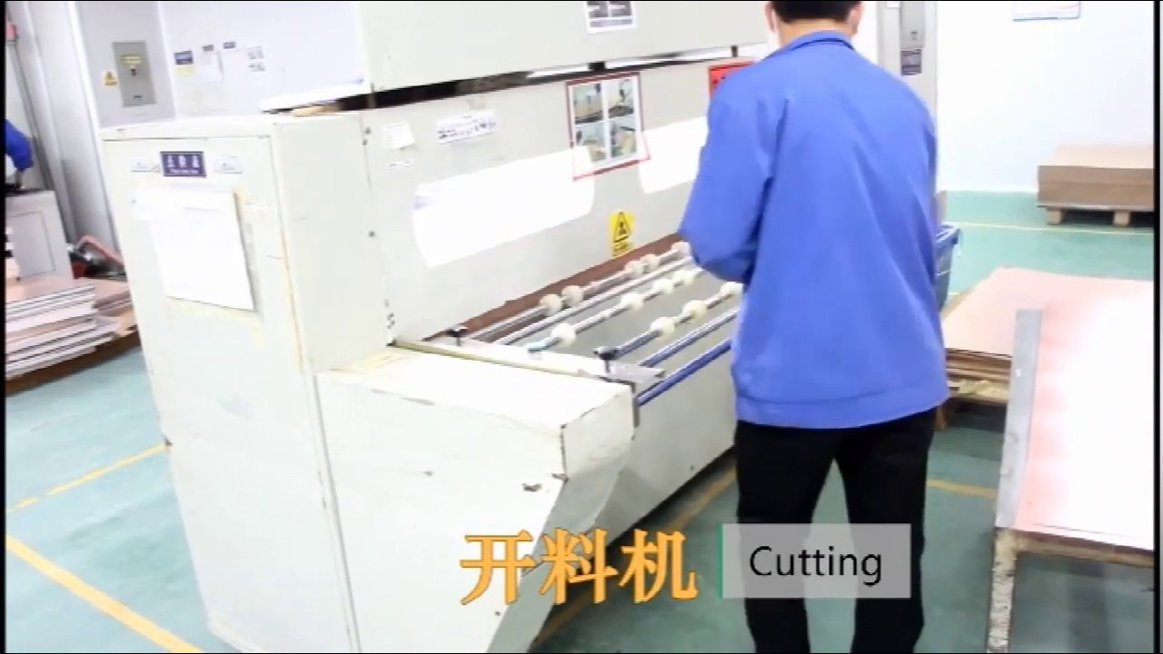 Multilayer PCB production process
