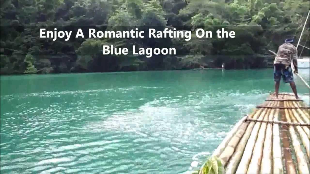 Port Antonio Jamaica Somerset Falls Blue Lagoon
