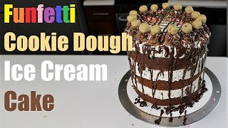 How to Make an Easy No-Churn Ice Cream Cake   CHELSWEETS