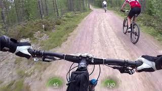 Cykelvasan 2017 utför Evertsberg