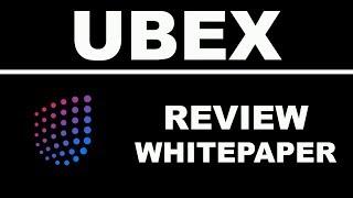 Обзор Ubex Whitepaper ICO - Децентрализованная Рекламная Биржа