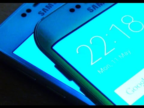 Samsung Galaxy S6 Edge Screen Bleed ? - YouTube