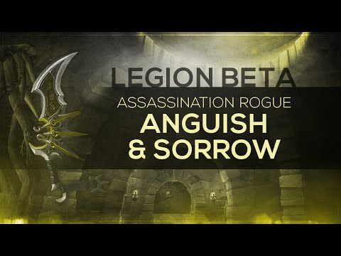 """WoW LEGION Beta - Artifact Quest   Assassination Rogue """"The Kingslayers"""" (Spoilers)"""