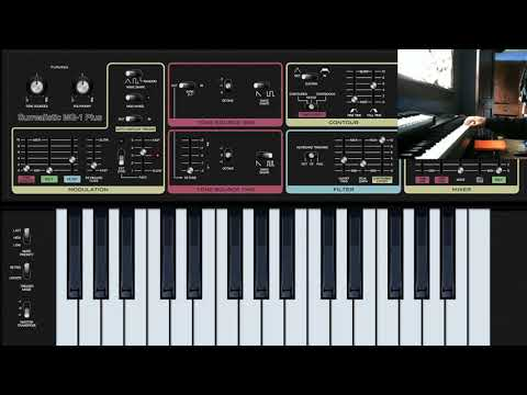 Free Synth VST - Surrealistic MG-1 Plus - Cherry Audio - Playthrough