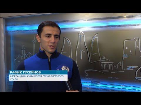 Спортсмены радуются победе Азербайджана