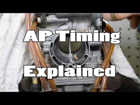 How-To: FCR carburetor accelerator pump timing adjustment