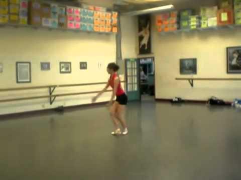 CSJH - Stephanie Reherseal Ballet at LA Ballet
