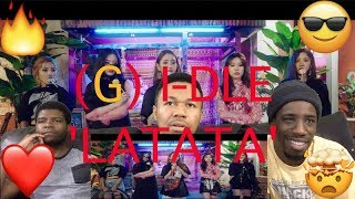 (G) I-DLE - 'LATATA' REACTION VIDEO!!