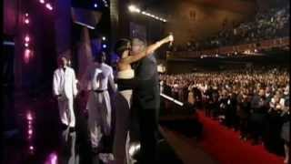 Whitney Houston Johnny Gill El Debarge Kenny Lattimore LIVE - Luther Vandross Tribute Medley
